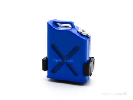 Auxillary Plastic Fuel Tank / Small