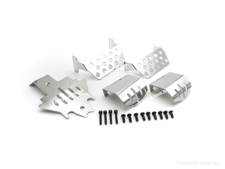 S.Steel Protector set for TRX4 (5)