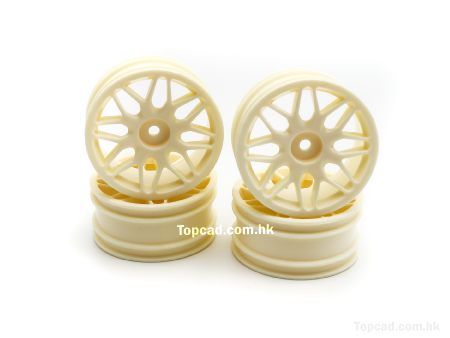 Wheel set 8Y-spoke for 1/10 on-road (4)